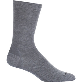 Icebreaker Liefestyle Fine Gauge Ultralight Crew Socks twister heather/black